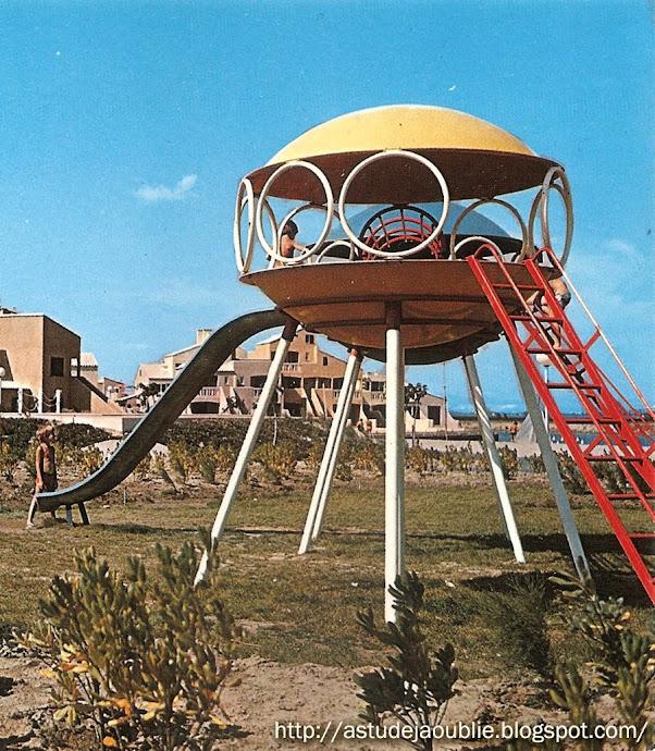 Port Barcarès - Jeux d'enfants - Cité Lacaustre Nautica