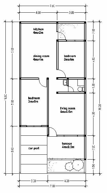 Small 3 bedrooms house plans hot girls wallpaper for Small hot house plans