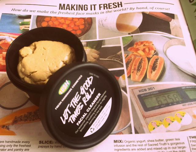 LUSH Let the Good times Roll cleanser