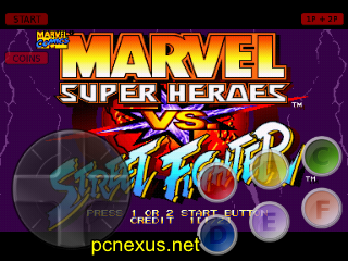 marvel super heroes vs street fighter cps2 on android