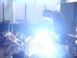 fabricación de bancos metalicos