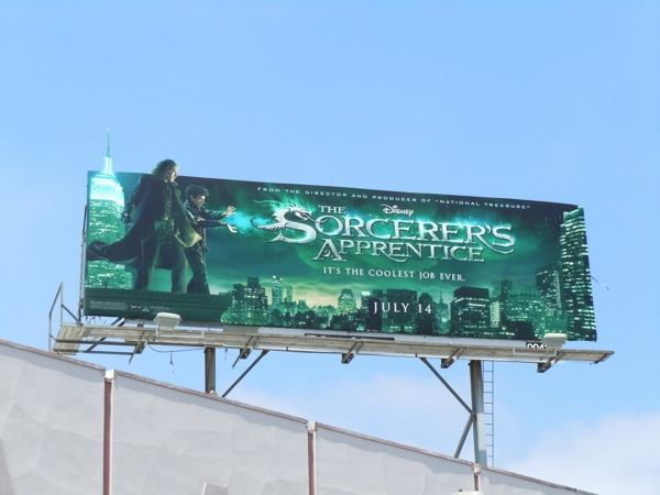 Disney Sorcerers Apprentice extension billboard