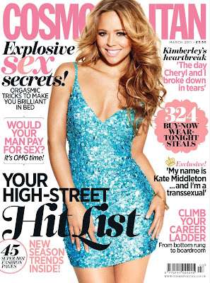 Kimberley Walsh Cosmo Cover