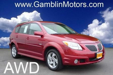 gamblin motors 2006 pontiac vibe awd. Black Bedroom Furniture Sets. Home Design Ideas