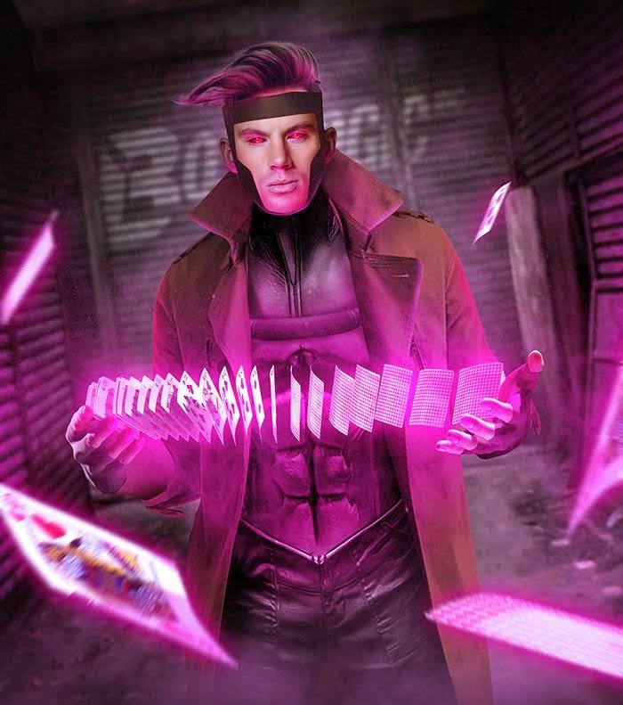 ... Tatum Art metalblackfae Gambit Confirmed As Third X Men Movie of 2016