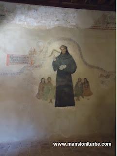 Mural en el Ex Convento de Santa Ana en Tzintzuntzan