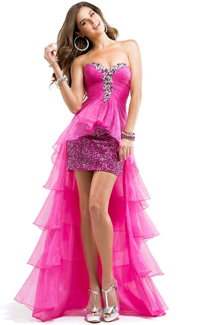 choosing prom dresses