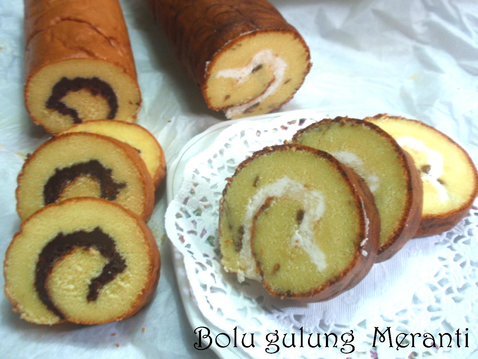Cook and cake bolu gulung meranti
