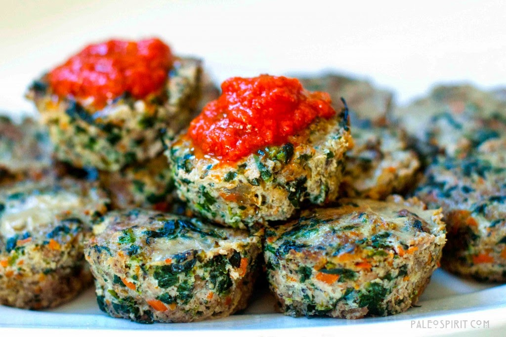 Paleo Mini Meatloaves -> Recipe In Article
