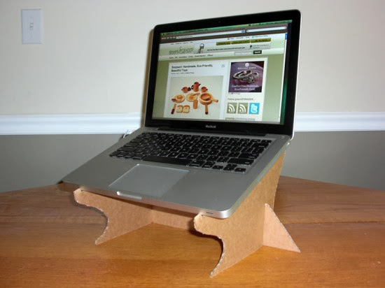 Diy Cardboard Laptop Stand The Idea King