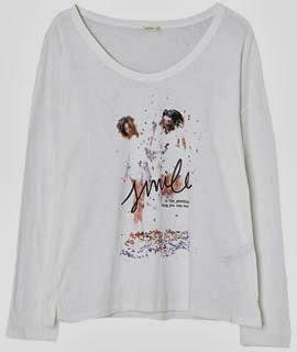 Oysho camiseta colección San Valentín 2014