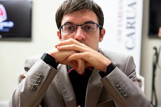 Le Français Maxime Vachier-Lagrave est second à 2 points sur 4 © Chessbase
