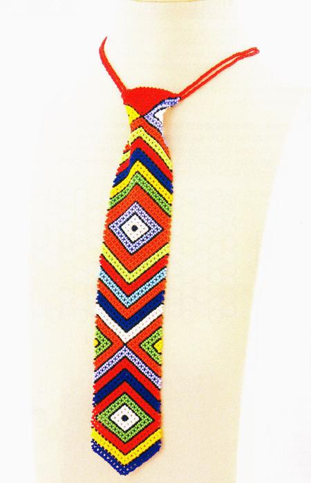Галстук из бисера.  Tie Bead
