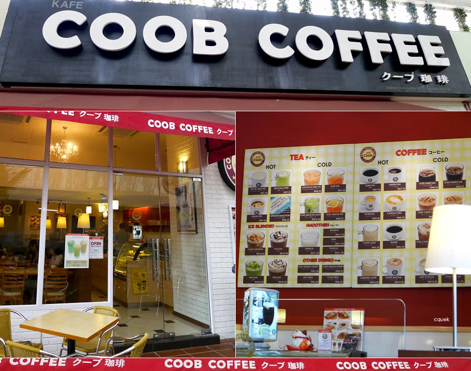 Coob Coffee Komtar Walk Penang Cquek
