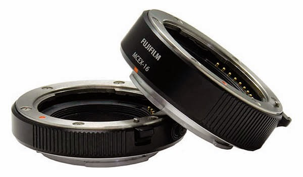 Fuji announces Macro Extension Tubes for the X-mount cameras