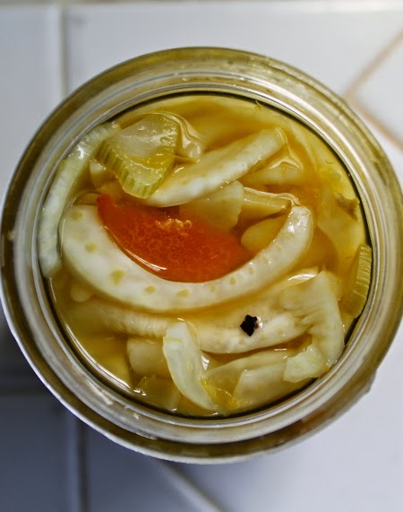 Fennel and orange pickle