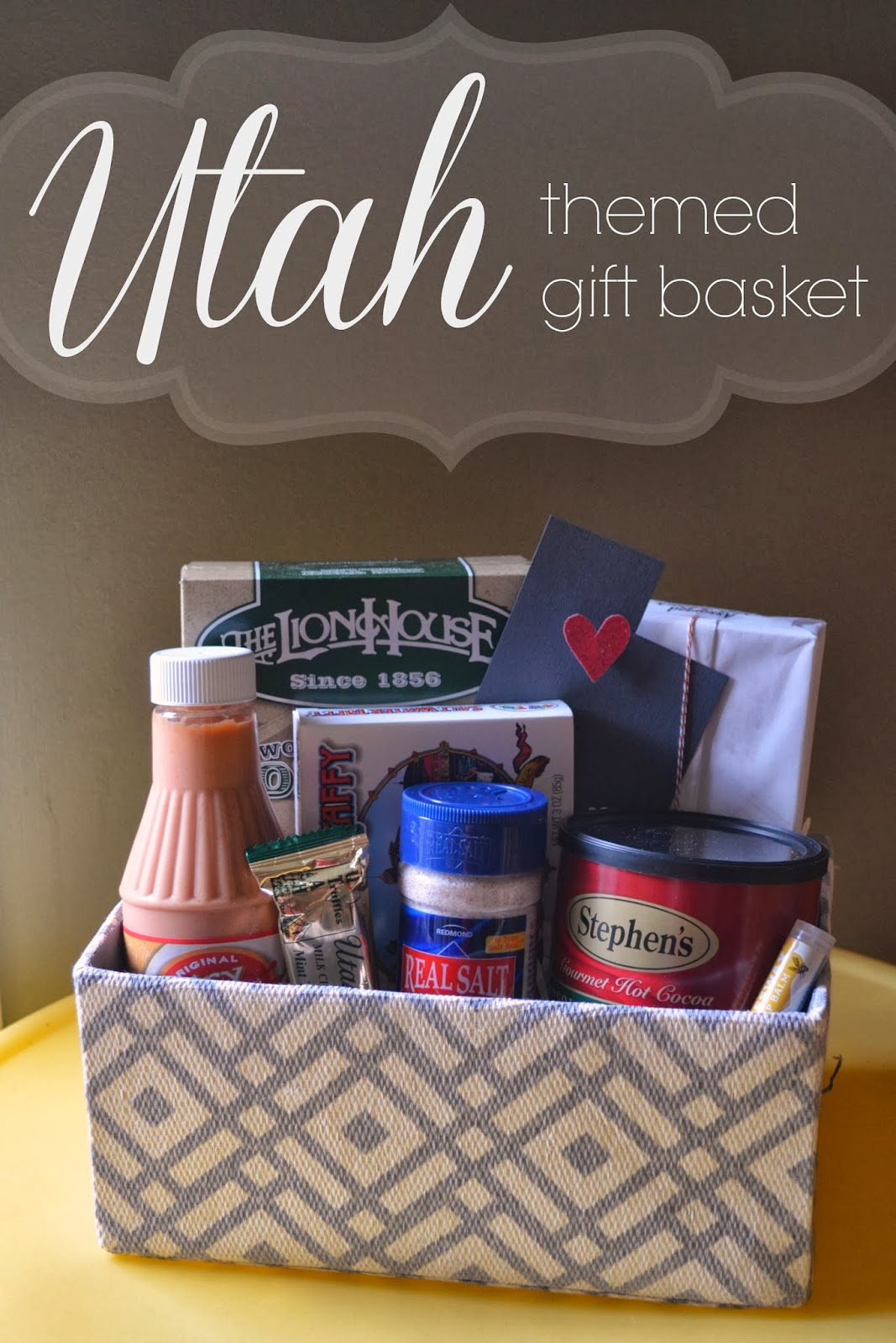 Utah Themed Gift Basket - A Little Tipsy
