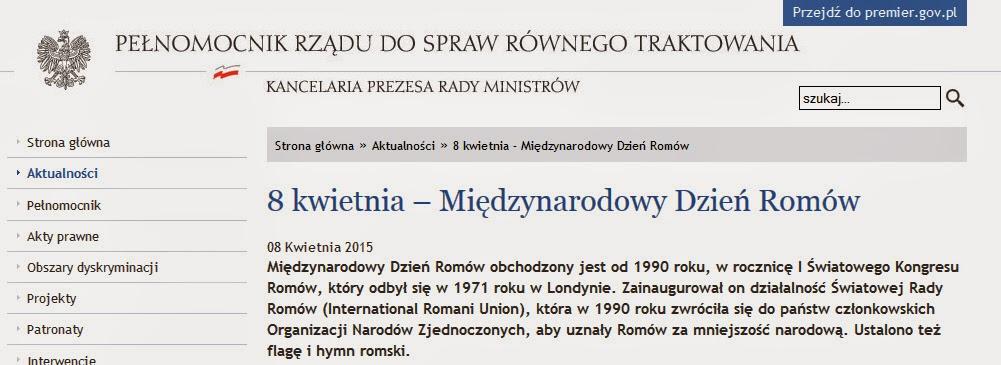 http://www.rownetraktowanie.gov.pl/aktualnosci/8-kwietnia-miedzynarodowy-dzien-romow-2