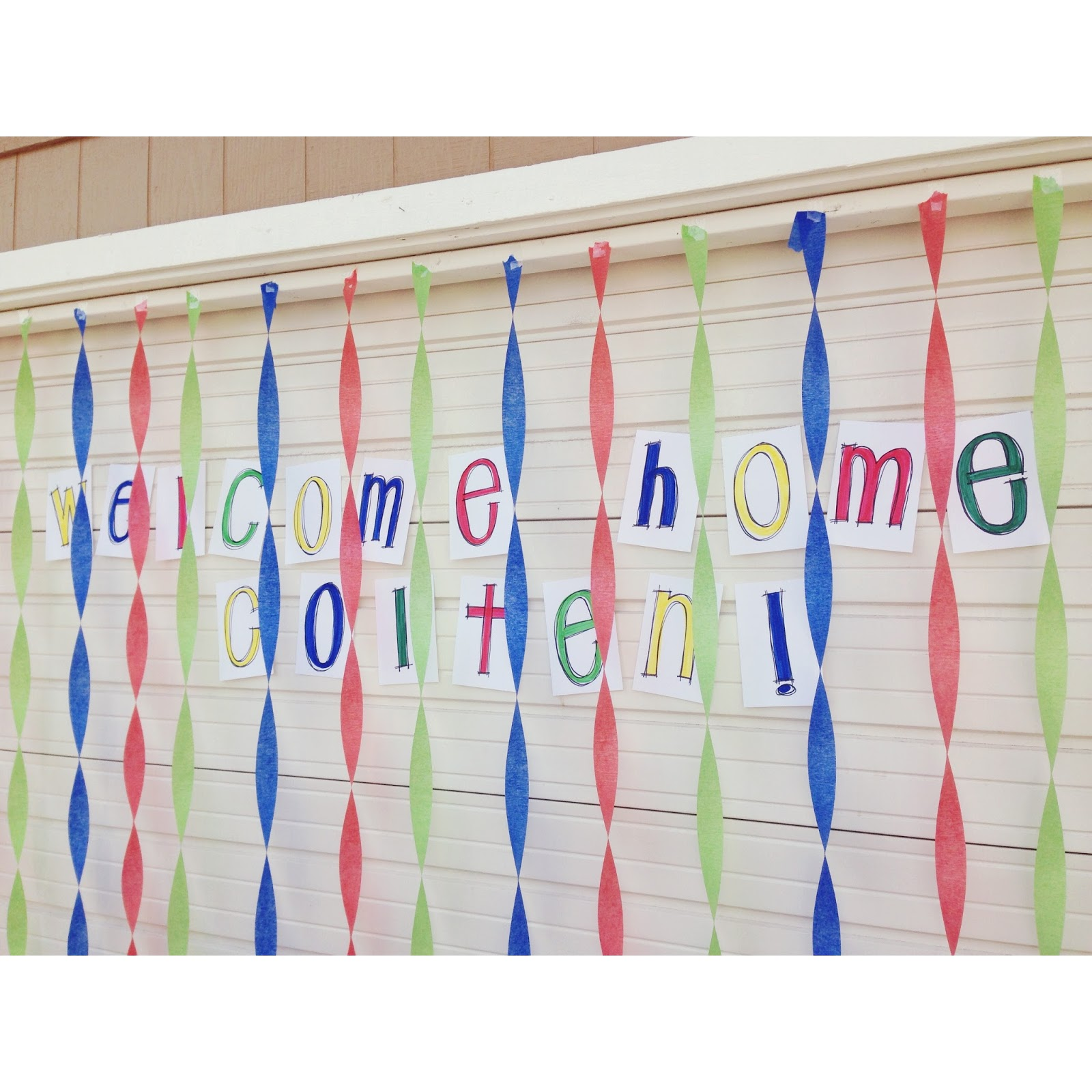Welcome Home Door Decorations | Decoration For Home