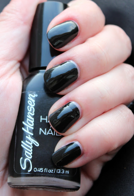 Sally Hansen Hard As Nails Black