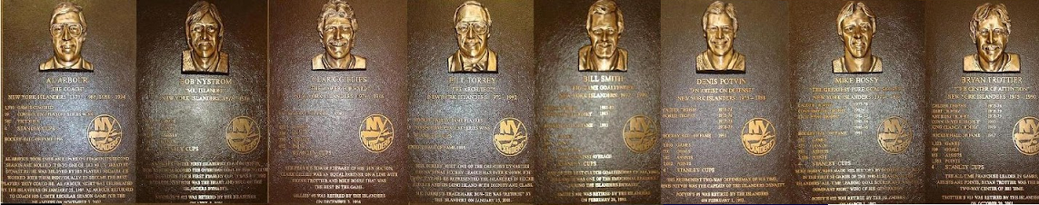 New York Islanders NHL Hall Of Fame