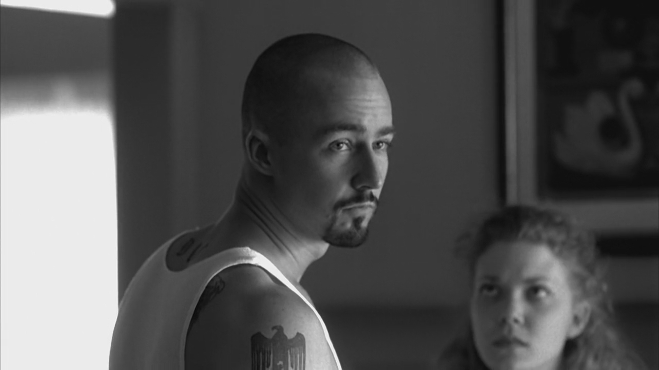 a personal view on the film american history x List of american history x characters, along with their pictures from the film when available these characters from the movie american history x are displayed from top to bottom according to their prevalence in the film, so you can find the lead characters at the top of the list.