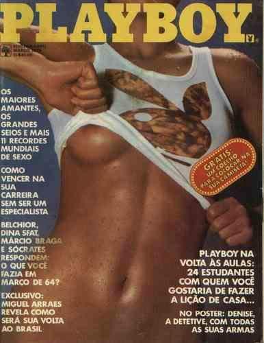 Confira as fotos das Estudantes, especial volta as aulas, capa da Playboy de março de 1979!