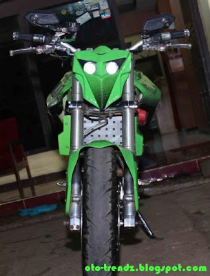 Honda CBR 150R Full Modifikasi model street fighter