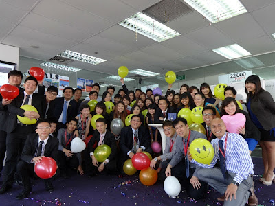 Birthday Party of Redwoods Advance Singapore's Managing Director Adrian Chua