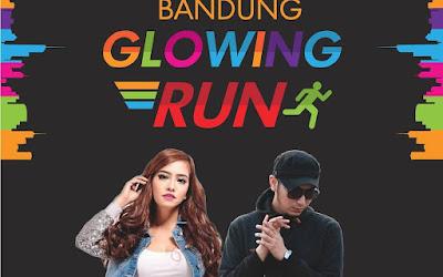 Bandung Glowing Run 2015, lomba lari malam hari bandung