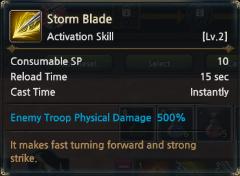 KUF2 - Storm Blade