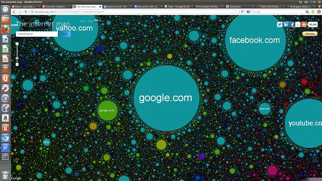 Mapa de Internet de los EEUU