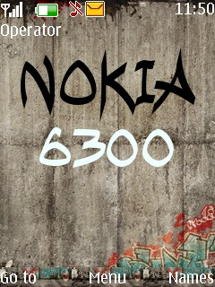 Tema Nokia Flash grafiti