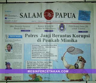 Koran Salam Papua - Timika