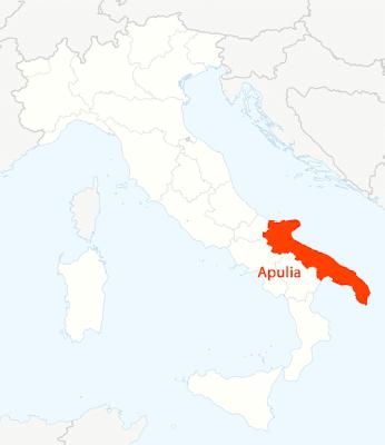 Puglia Mappa della città