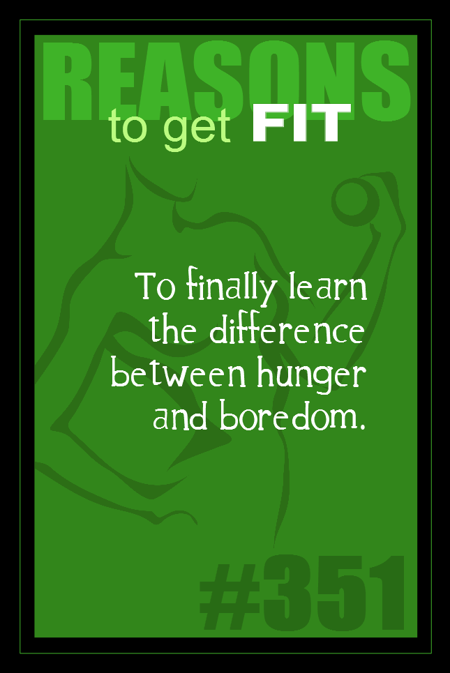 365 Reasons to Get Fit #351
