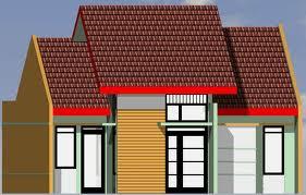 desain rumah tipe 70