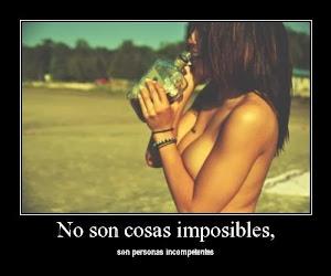 NO HAY COSAS IMPOSIBLES…