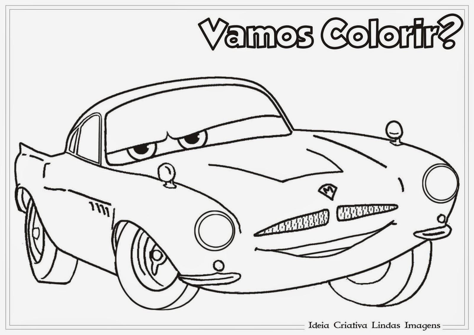 Desenho para colorir do relampago maquim desenhos do for Missile peppa pig