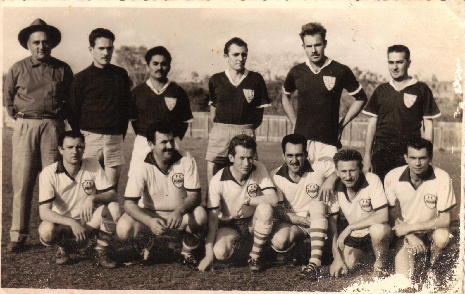 1958-1960  Aurora Futebol Clube