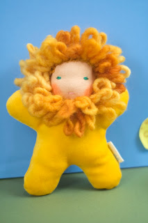 Waldorf Doll, handmade, Lion Doll, Tansy Dolls