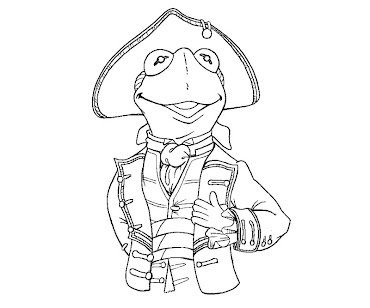 #14 The Muppets Coloring Page