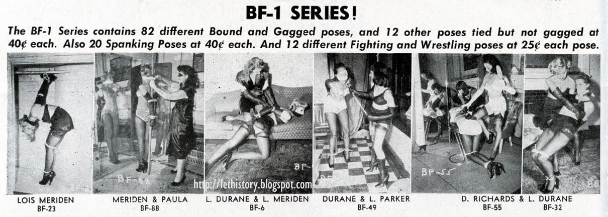 Irving Klaw Bondage Series BF-1