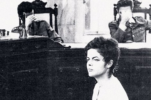 Hoje presidenta do Brasil, Dilma Rousseff foi torturada em 1970