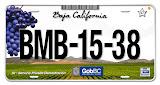 Tramites de placas para el Estado de Baja California.