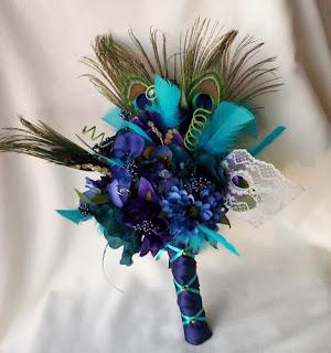 Ramos de Novia Color Azul, parte 5