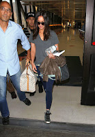 Megan Fox  arriving at LAX Airport
