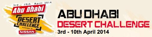 Abu Dhabi Desert Challenge 2014