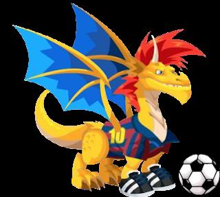 recolectar los primeros 20 Inten de la isla del tesoro obtendras un Dragon Futbolista