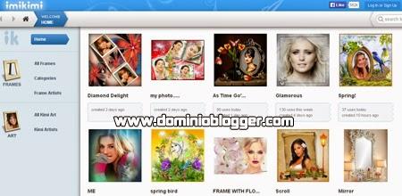 Edita tus fotos online y gratis con Imikimi